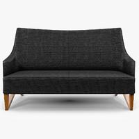 giorgetti mobius sofa 3d model
