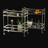west elm teerace bar cart