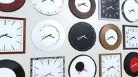 unity clocks 3d model