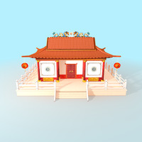 Chinese Temple - House