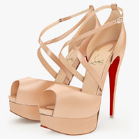 maya shoes louboutin cross