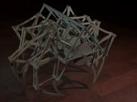 teo jansen mechanism print 3d max