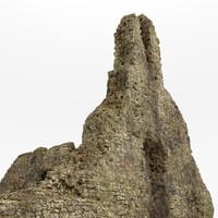 maya stone cliff