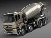 Mercedes-Benz Axor 3240B Concrete Mixer 2015
