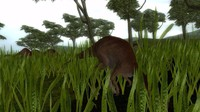 3d gallimimus model