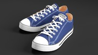 converse star sneakers 3d 3ds