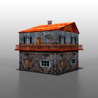 italian house 3d max