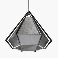 harlow pendants - black 3d max