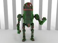 robot 42b66 3d max