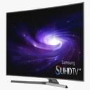 flatscreen television 3D models