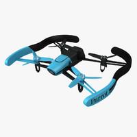 3ds max parrot bebop drone