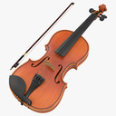 Stringed Instrument 3D models