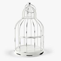white cage 3d model