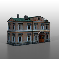 3d model of house polish