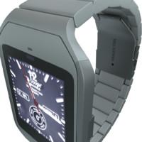 sony smartwatch 3 3d model