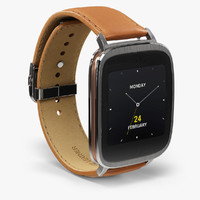 3d asus zenwatch wi500q watch model