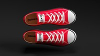 3dsmax converse star sneakers