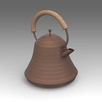 3d kettle tea