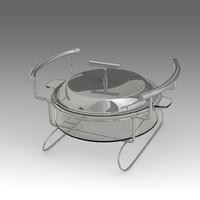 3d model of saucepan