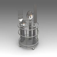 utensils 3d fbx
