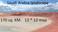saudi arabia desert landscape max