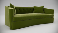 lillian august maison sofa interior 3d model