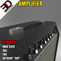 obj realistic amplifier