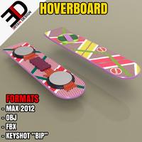 3d future hoverboard