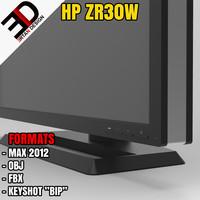 hp zr30w 3d model