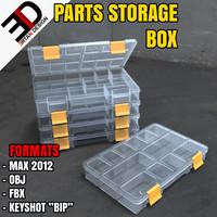 3d parts storage box