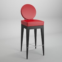 mascheroni chair martini bar 3d model