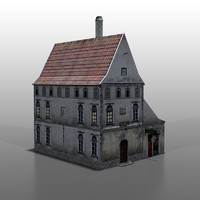 house baltic 3d model