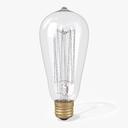 Incandescent Light Bulb 3D models