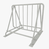 bike rack 3d 3ds