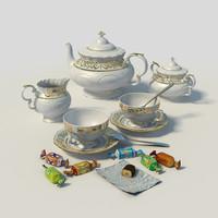 """Tea set """"Leander"""