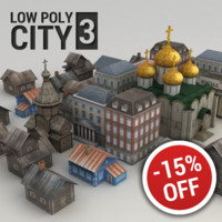 3d model city buildings