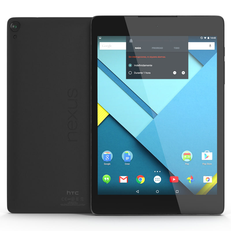 Google Nexus 9 Gray 3d model 01.jpg
