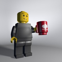 c4d lego cup