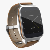 3d model of asus zenwatch 3