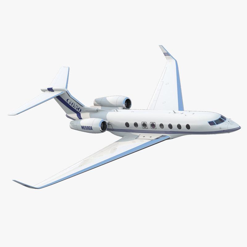 Gulfstream G650 3d model 00.jpg