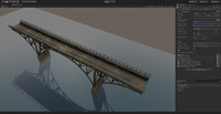 3d model bridge ready