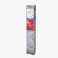 c4d stone column scan