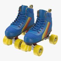 3dsmax roller skates