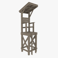 obj lifeguard tower