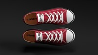 converse star sneakers obj