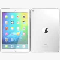realistic apple ipad mini 3d max