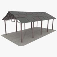 storage area outdoor 3ds