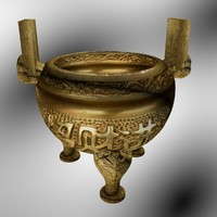 3d model chinese vase