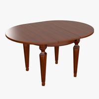3d table cecilia model