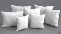 3ds max solid pillow set